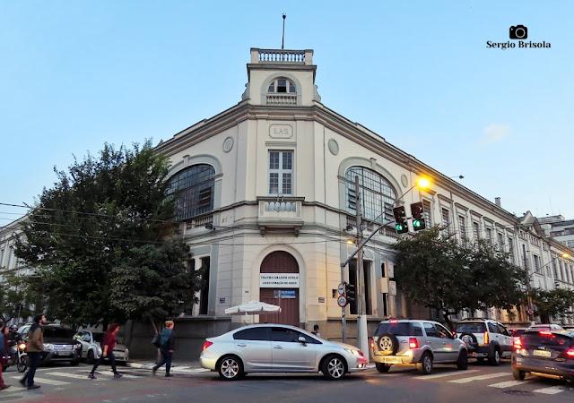 Vista ampla do Teatro Grande Otelo - Campos Elíseos - São Paulo