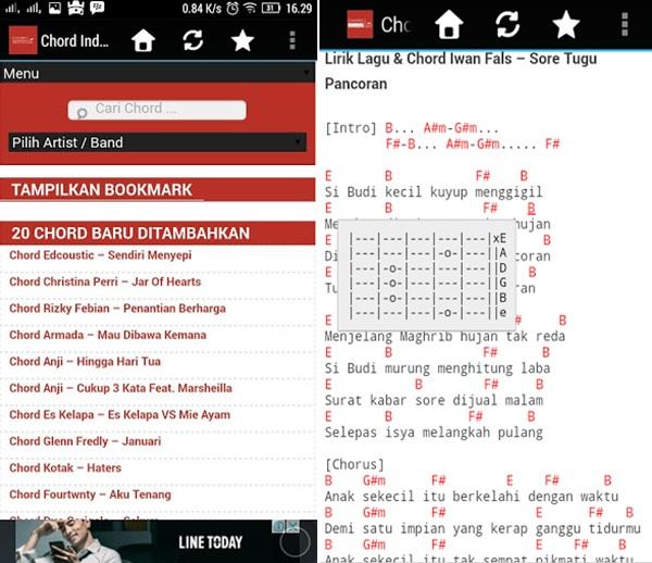 Cord Gitar Dasar: Top 9 Aplikasi Kunci Gitar Android (Terbaik & Terlengkap