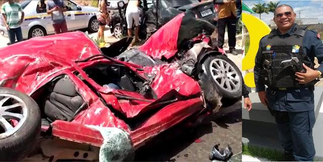 Policial militar de Sergipe morre e quatro ficam feridos após acidente em N. S. do Socorro