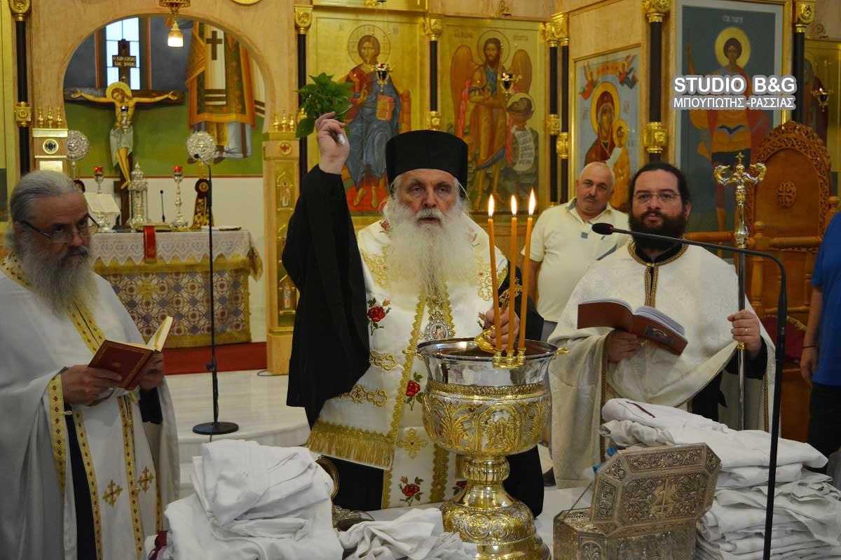 Ολοκληρώθηκαν οι εορτασμοί για τον Άγιο Λουκά στα Λευκάκια Ναυπλίου