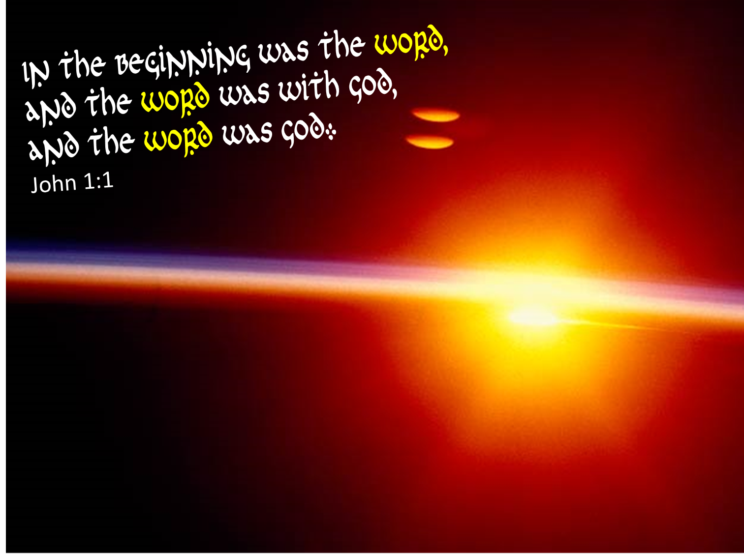 How Do You Start The Story And What Does That Say From Eternity To Here Part 1 John 1 1 18