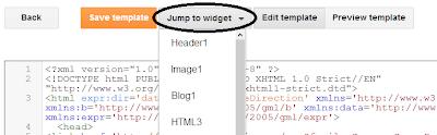 Jump to widget