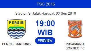 Persib Bandung vs Pusamania Borneo FC