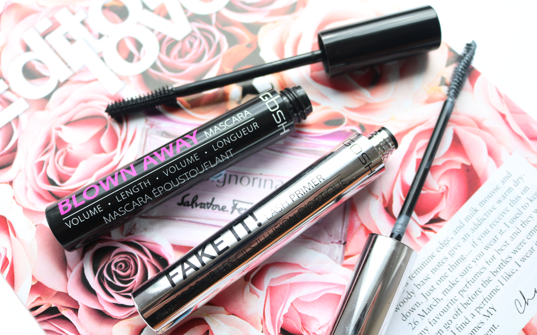 GOSH Fake It! Lash Primer & Blown Away Mascara review
