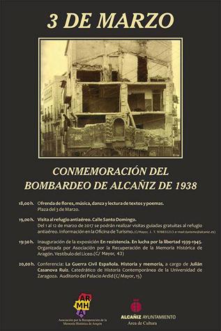 Conmemoración del bombardeo de 1938