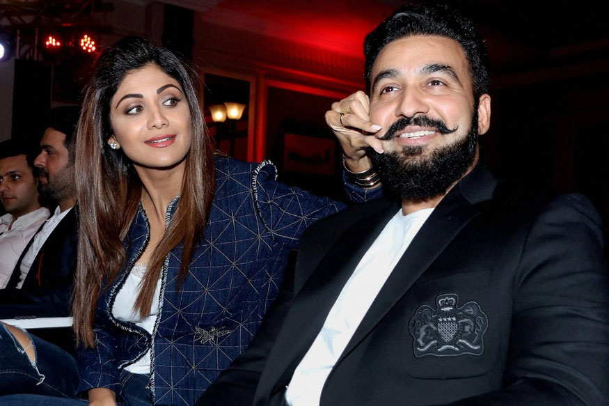 Shilpa Shetty Kundra with Raj Kundra at An Event of IFP's New Match Indian Poker League