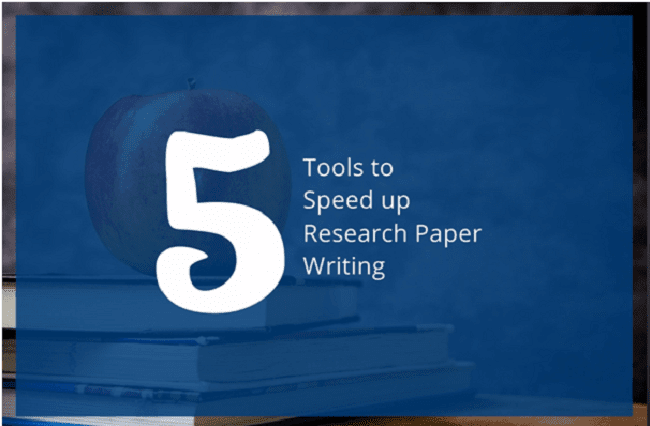 Tools to Speed Up Research Paper Writing