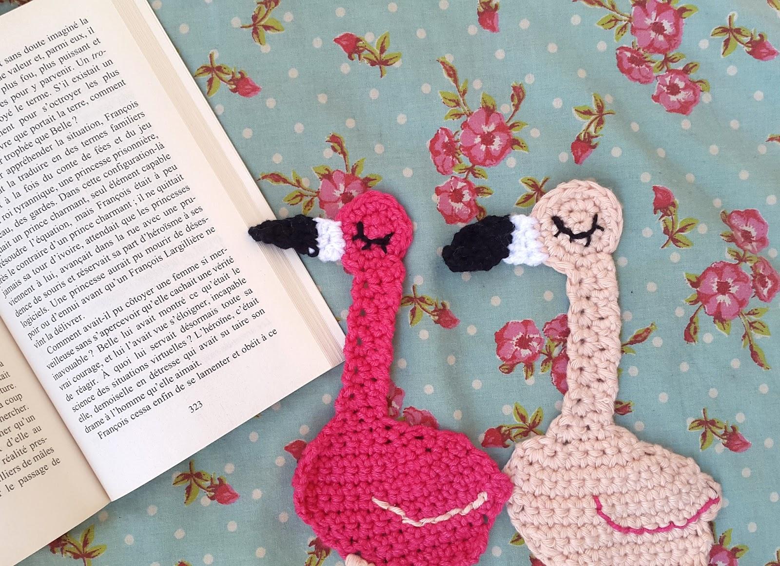 La Souris Aux Petits Doigts Marque Page Flamingo Le Tuto