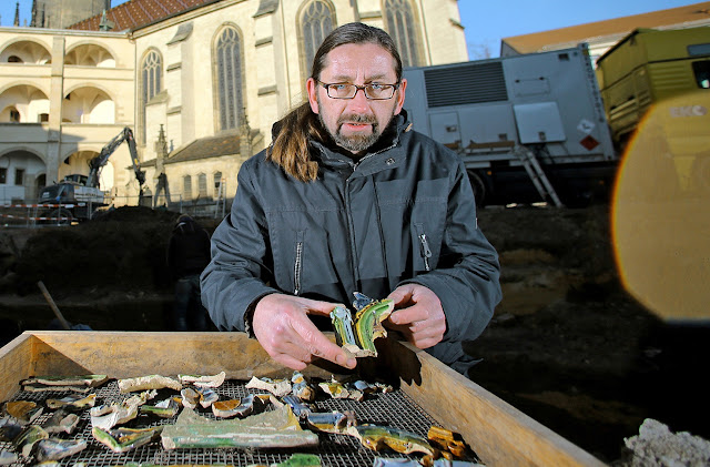 15th century disposable cups found in Martin Luther's Wittenberg