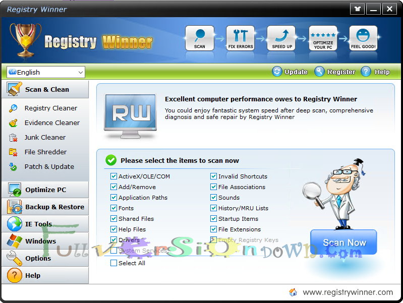Download Registry Winner Full Version