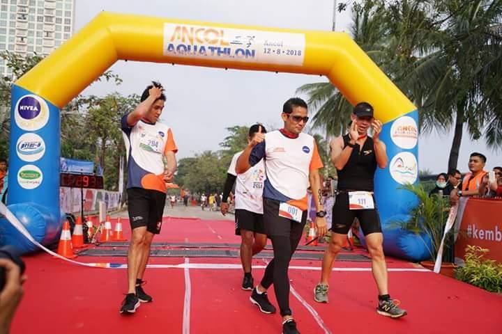 Hobi Berlari, Alasan Sandi Bikin Bangga