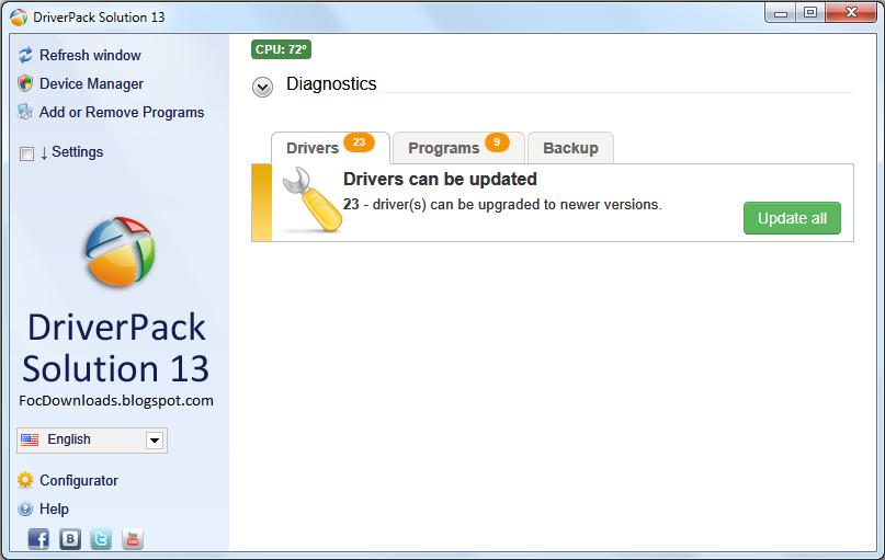 driverpack solution offline 32 bit