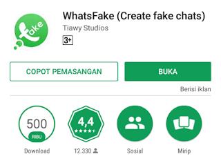 Cara Membuat Fake WhatsApp
