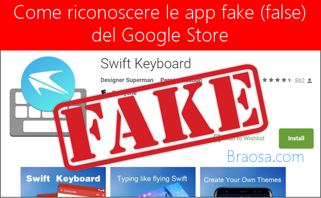 Come riconoscere le app Andrid false e fake presenti sull'app store di Google