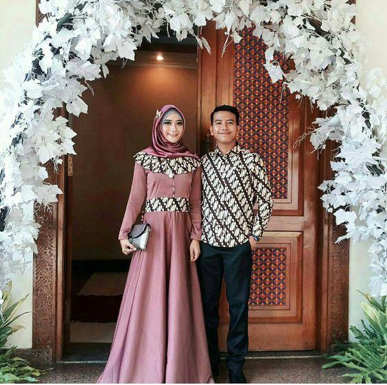Contoh Model Baju Batik Untuk Pesta Pernikahan Terbaru ...