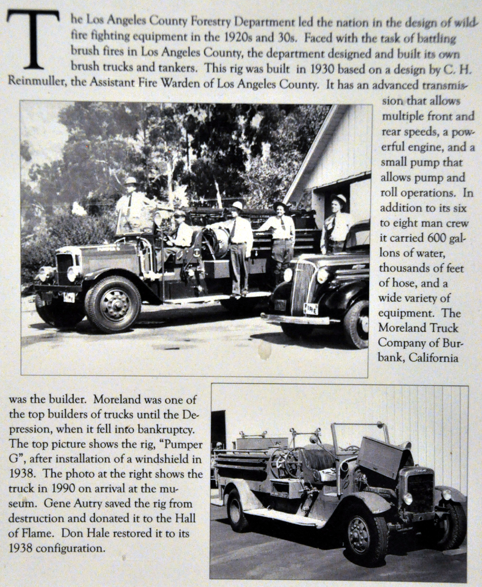 Just A Car Guy: Gene Autry found this Moreland built fire