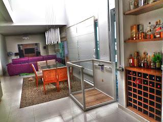 elevador plataforma residencial e comercial de acessibilidade