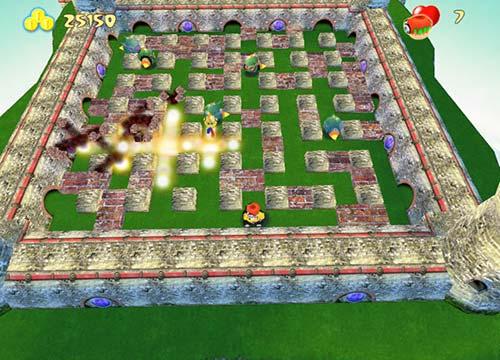 تحميل لعبة رجل القنابل الجديدة Bombermania للكمبيوتر والاب توب