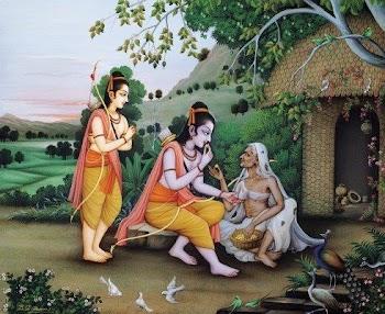 Navdha bhakti in Ramcharitmanas by Guru Tulsidas.