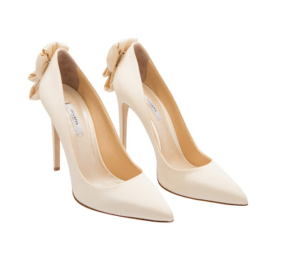 Olgana Paris La Delicate Satin Pumps