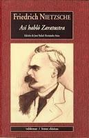 Portada del libro Así habló Zaratustra epub pdf gratis