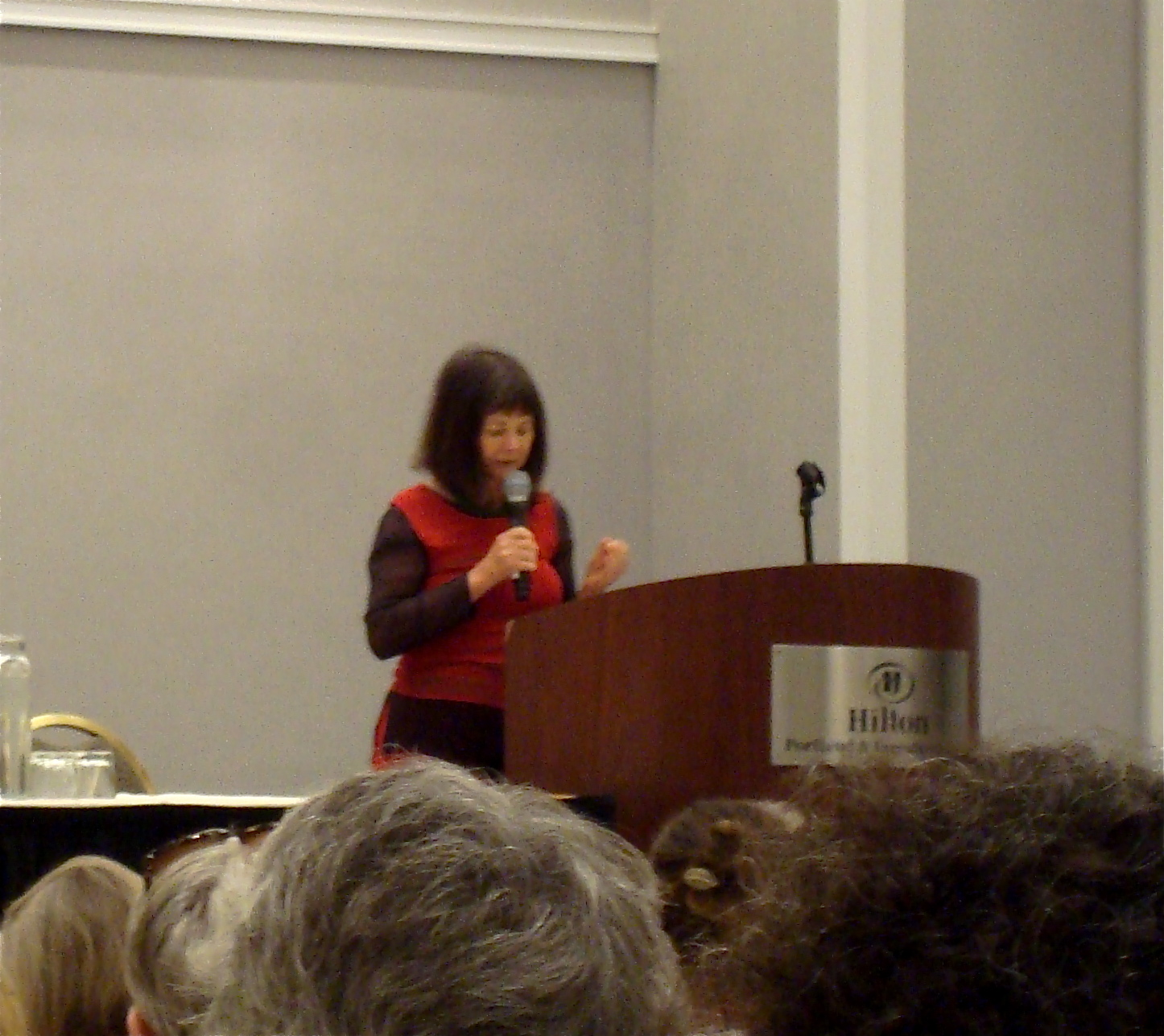 I Didn't Get Close To Geraldine Brooks, But She Was Inspiring From Afar