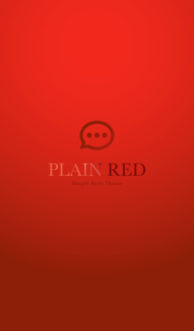 Plain Red