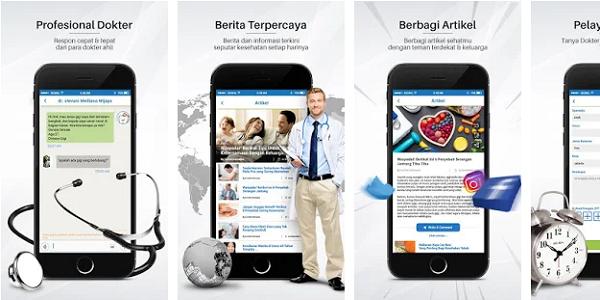 Aplikasi Kesehatan Go-Dok