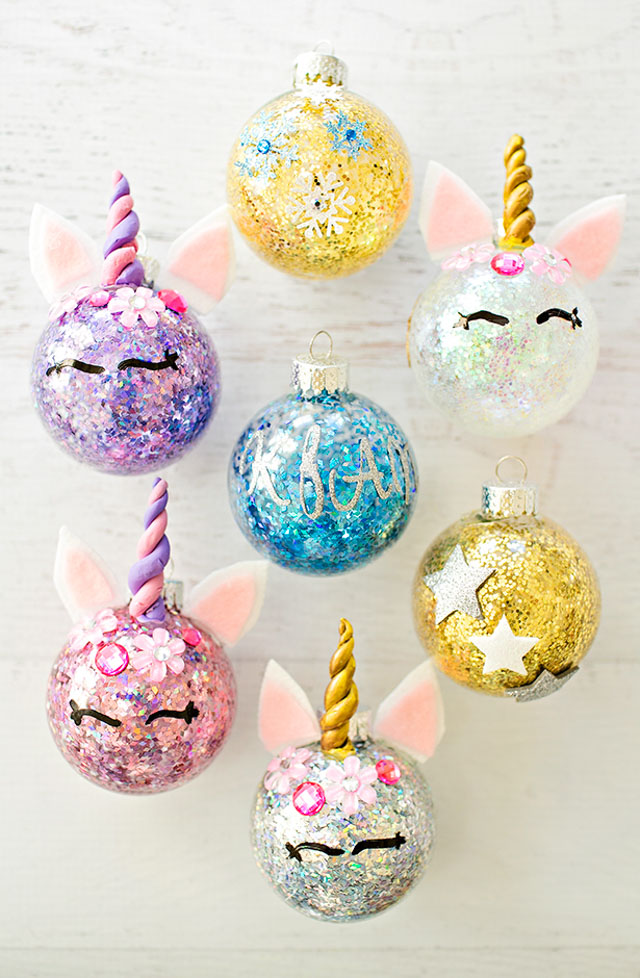 Check out 13 of the sweetest unicorn craft ideas you'll find. So much cuteness! #unicorncraft #unicorncrafts #unicornparty #unicorndecor