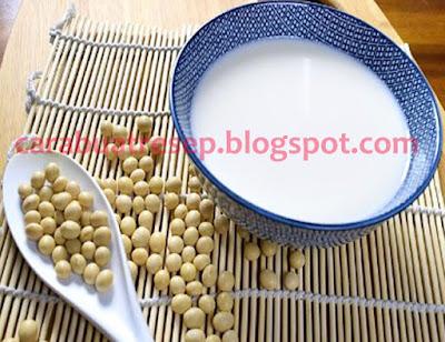 Foto Resep Susu Kedelai Murni (Soy Bean Milk) Sederhana Buatan Sendiri Spesial Ala Rumahan (Homemade) Asli Enak