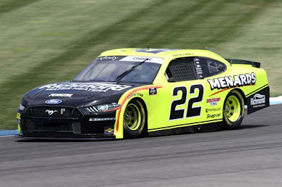 Austin Cindric led 21 laps while driving to the First Stage win and finished P5. #NASCAR