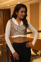 Catherine Tresa in a White Glittering Crop Top Black Leggings  Exclusive 040.JPG
