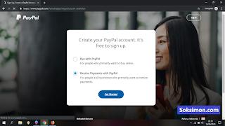 Jenis akun Paypal