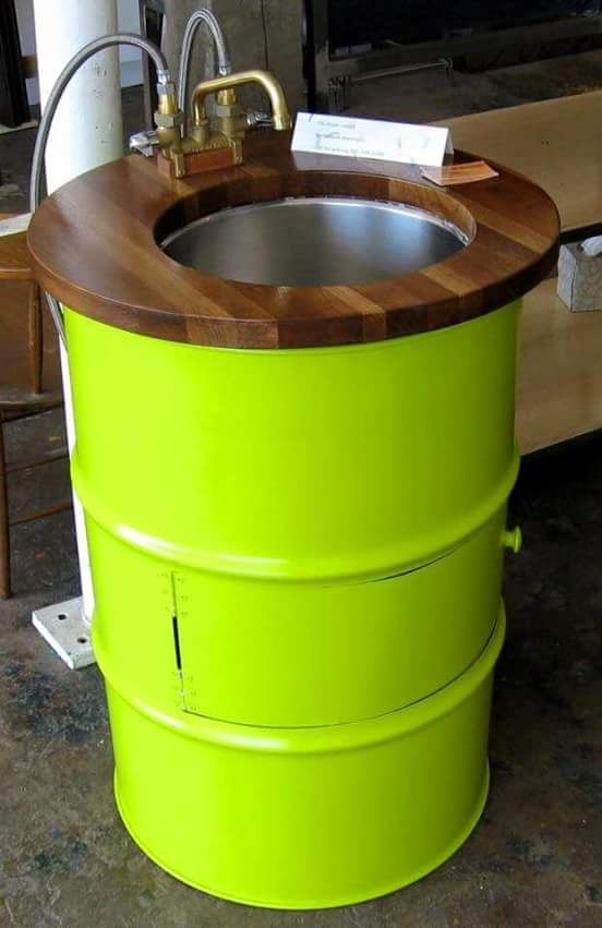 Steel Drum Furniture | Outdoor Furniture Made Of Old Waste Metal Barrels |  Seat Recycled Drum Bench | Recycled 50 Gallon Drums Into Chairs | 55 Gallon  Metal ...