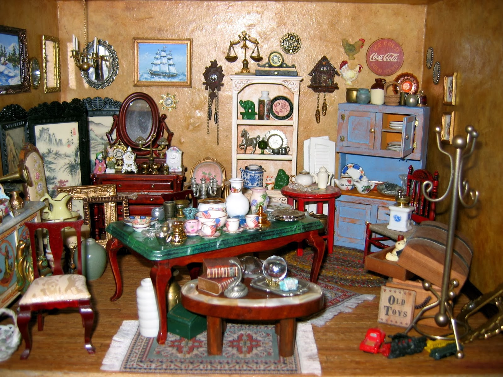 miniature antuque shop