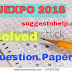 JEXPO 2018 Question Paper Suggestion Download | JEXPO 2018 ( WB Polytechnic ) Solved Model Question Paper Download