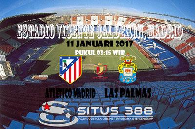 JUDI BOLA DAN CASINO ONLINE - PREDIKSI PERTANDINGAN LEG KE-2 COPA del REY ATLETICO MADRID VS LAS PALMAS 11 JANUARI 2017