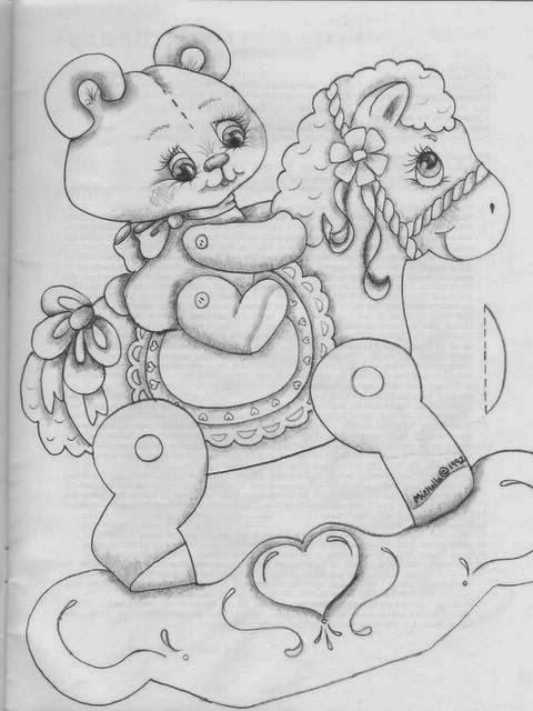 Desenhos de ursinhos para colorir