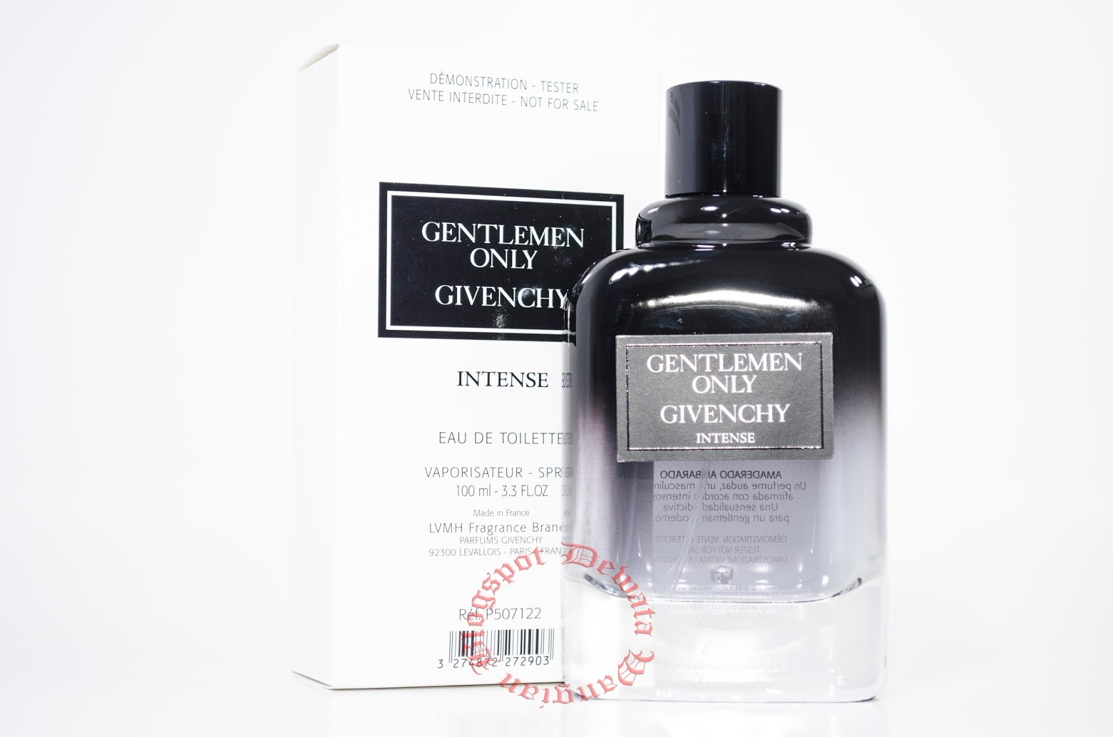 Givenchy Gentlemen Only Intense Tester Perfume Cosmetics Blogs