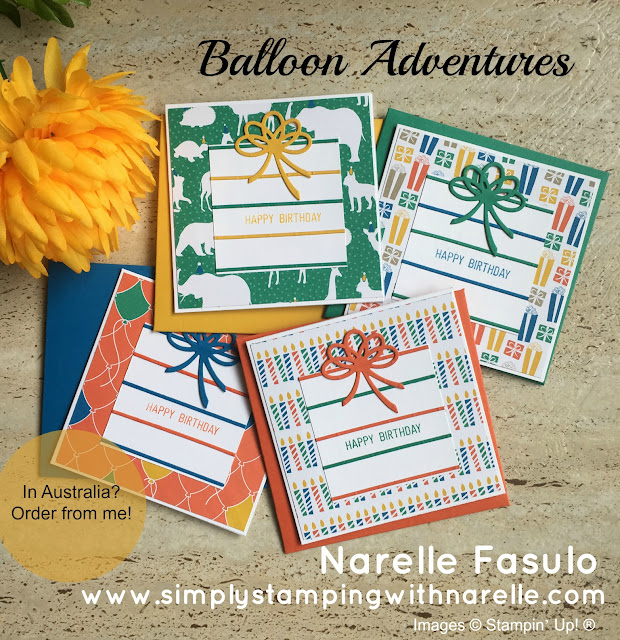 Party Animal Designer Series Paper - Simply Stamping with Narelle - available here - http://bit.ly/2oe5WsD