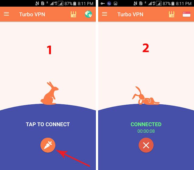 aplikasi Turbo VPN untuk Buka Situs Terblokir