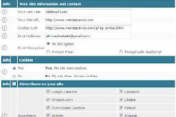 Membuat Privacy Policy Online Pada Blog