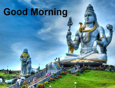good morning images god - lord shiva - om nava shivay