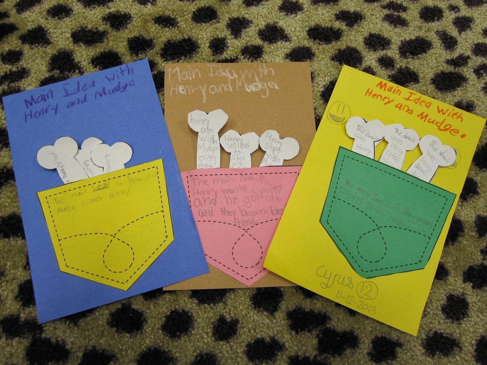 Second Grade Perks More Main Idea And Possessive Nouns