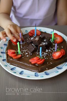 birthday-brownie-cake