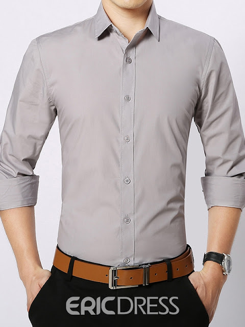 Multi-Color Long Sleeve All Matched Men's Shirt
