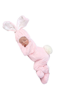 Easter Bunny New Born Costume