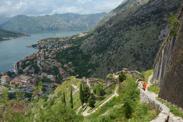 Bay of Kotor wall