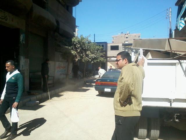 حملات مستمرة علي ميت غمر تنفيذا لخطة المحافظة
