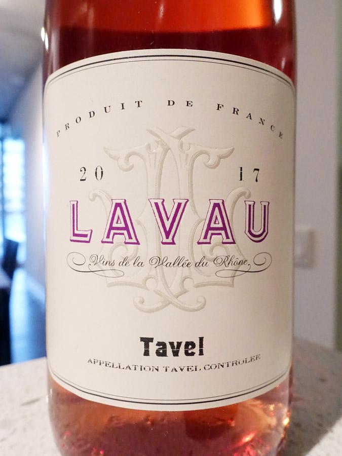 Lavau Tavel Rosé 2017 (89 pts)